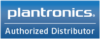 Plantronics authorized dealer logo, BTP is an authorized Plantronics Distributor