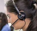 HW510 monaural headset is suitable for enterprise and contact centers
