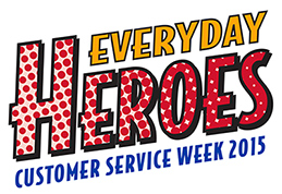 Customer service week 2015
