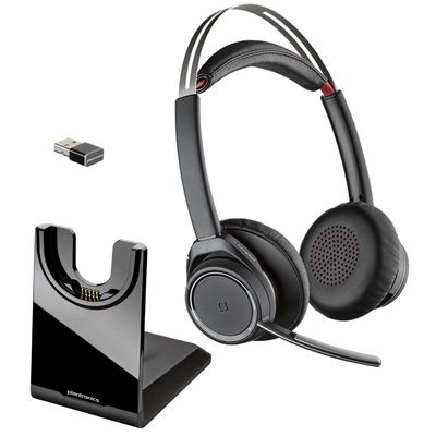 B825 M Voyager Focus Uc Bluetooth Headset W Anc Microsoft Business Telecom Products