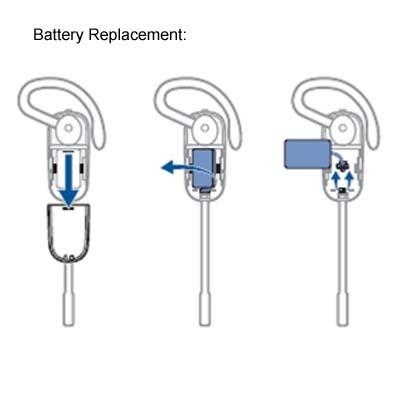 Battery for CS540 Wireless Headset