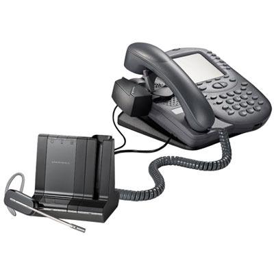 hl10 handset lifter right angle plug for legacy cs series rh btpi com Plantronics HL10 Handset Lifter Guide Plantronics CS55 with Lifter