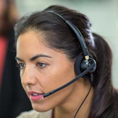 Proper Headset Mic Positioning For Noise Cancelling Business Telecom Products