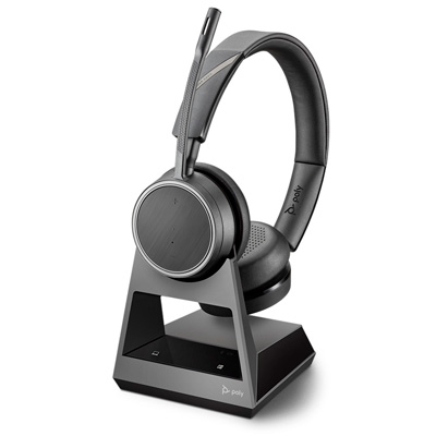 Voyager 4220 Stereo Office Bluetooth Headset System For Desk Phone Pc Mobile Business Telecom Products