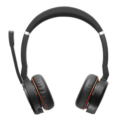 Evolve 75 Ms Stereo Bluetooth Headset W No Charging Stand Microsoft Business Telecom Products